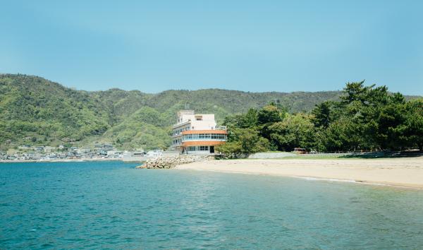桂ヶ浜荘からの眺望