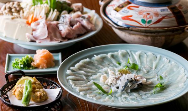 桂ヶ浜荘の料理